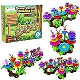 Desire Deluxe Flores Juguete para Niñas, 104 PCS Jardín Flores Playset Regalos, Juego Creativos de Construcción de Floral para Niñas y Niños de 3-6 años