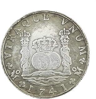 Eqerlian Monedas de Plata de un dólar de Plata Colecciones Antiguas de Cobre Blanco y Plata