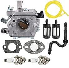 Allong Carburetor for Stihl 028 028AV 028 Super Walbro WT-16B Tillotson HU-40 with Fuel Line