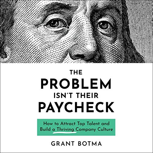 The Problem Isn't Their Paycheck audiobook cover art