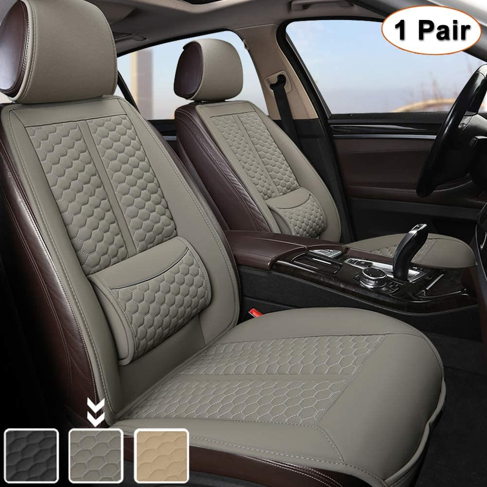 Japan's largest assortment Black Panther Car Seats Covers Sideless Pair New color 1 Universal Driver