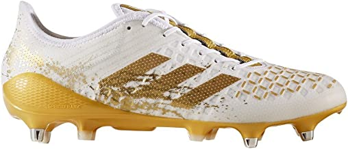 adidas Performance Mens Predator Malice Control SG Rugby Boots - White