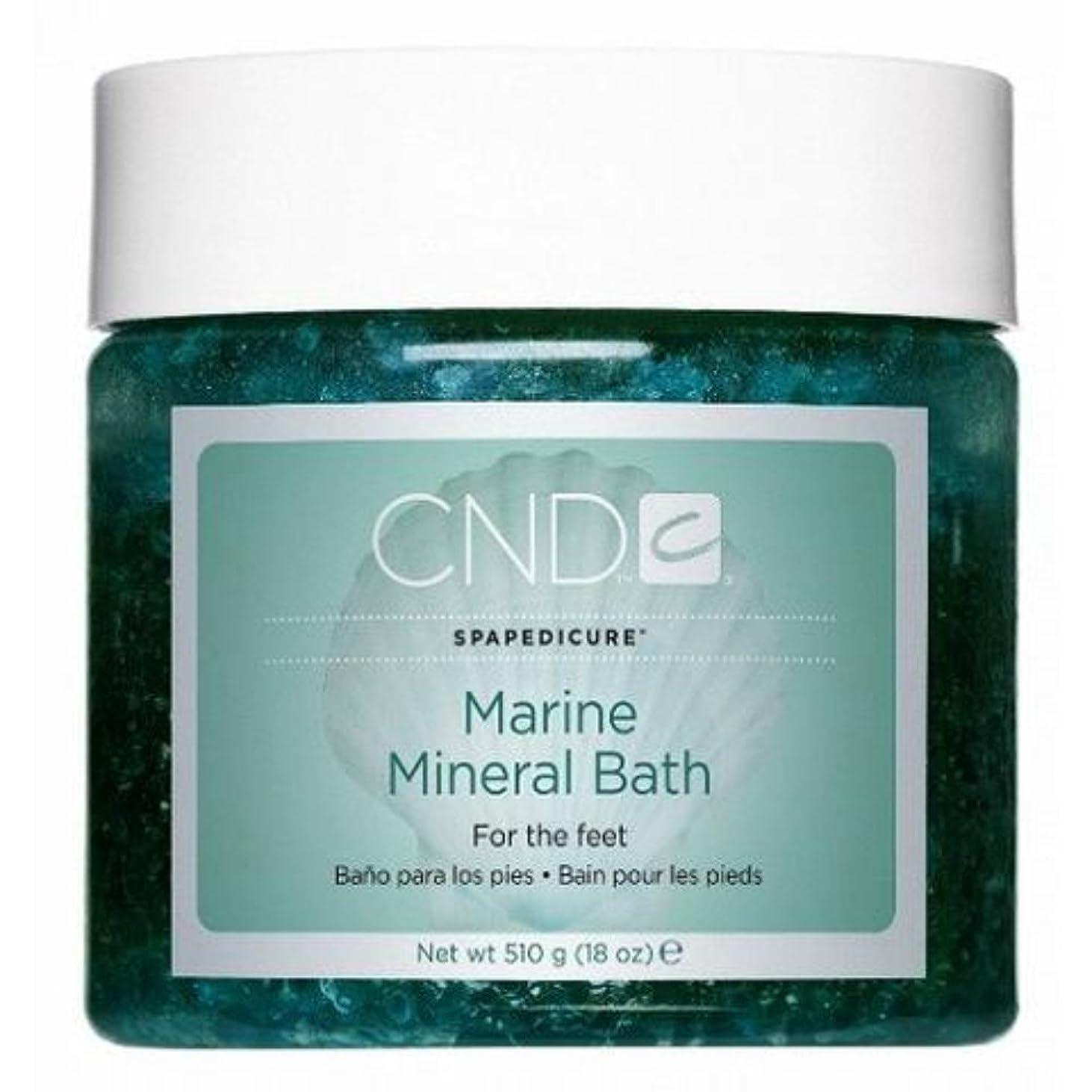 朝の体操をする精通したばかげたCND SpaManicure - Marine Mineral Bath - 18oz