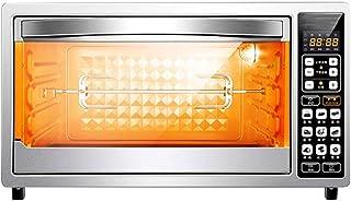 CYN-Horno tostador de convección inteligente 38L, con 9 menús Tubos superiores e inferiores giratorios de 360 ° para calefacción de control de temperatura independiente, con lámparas de inducción