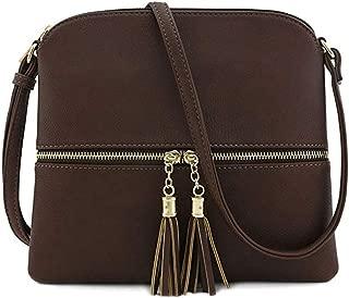 - BNT026 bolso de noche bolso de mano de piel sint/ética de poliuretano correa para el hombro bainuote Negro bolso cruzado color blanco Negro Bolso bandolera peque/ño para mujer