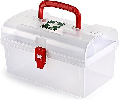 Cello Plastic Medical Box, White