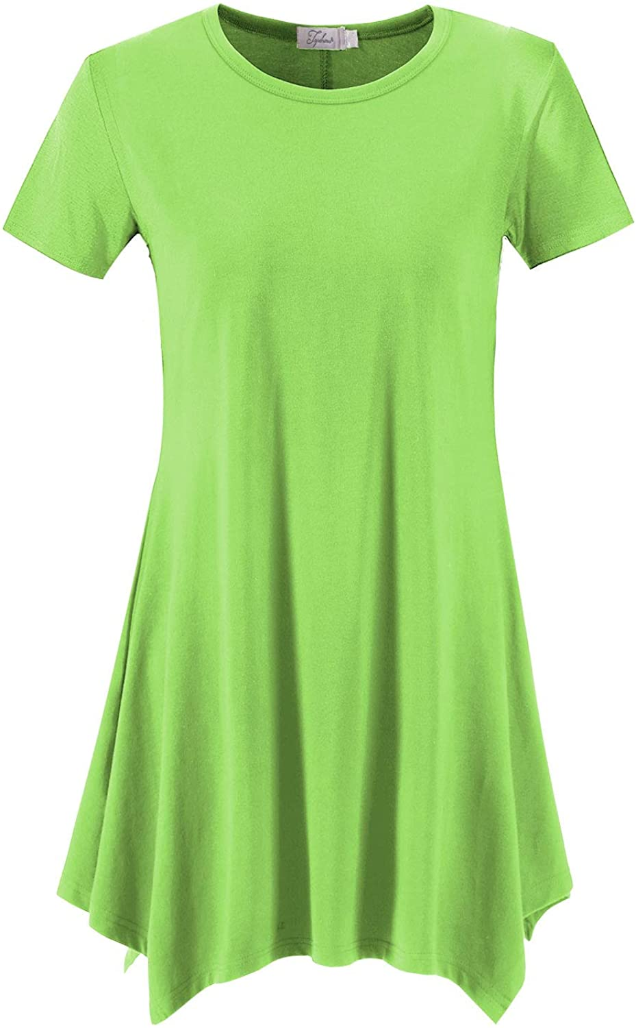 Topdress Women's Loose Fit Swing Shirt Recommended Top Legg Casual Tunic famous for