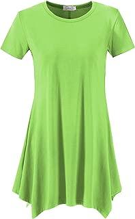 Women's Loose Fit Swing Shirt Casual Tunic Top for Leggings