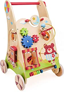 london-kate Kids Activity Baby Walker - Bear Activity Baby Walker with Musical and Educational Activities