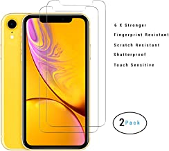 iPhone XR Screen Protector, Mocolo (2 Packs) iPhone XR Tempered Glass Screen Protector with 3D Touch Support, Shatter Proof