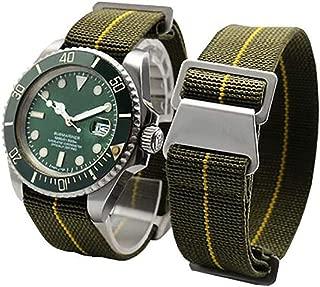 Span Realm Man's Parachute Special Elastic Nylon Band 20/22mm High-end Superior Watch Nylon Strap