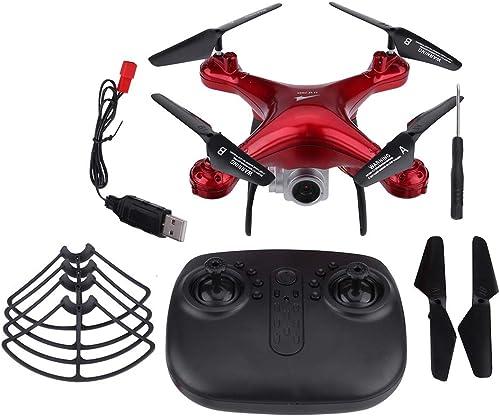 venta Dilwe L300HD 25 Minutos Tiempo Tiempo Tiempo de Vuelo 2.4GHz Control Remoto Quadcopter 1080P Cámara WiFi Transmisión RC Drone(1080P-rojo)  promociones de descuento
