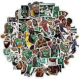 TUHAO Kyrie Irving Pegatina Nba Celtics Baloncesto Superstar Computadora Eléctrica Coche Casco Impermeable Etiqueta de Equipaje