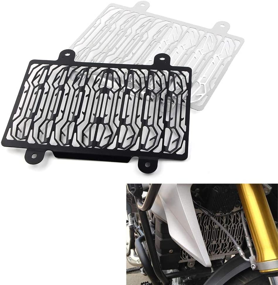 Silver Three T Motorcycle Radiator Guard Grille Grill Cover Protective Grill Washable Fit for BMW G310GS//G310R 2017-2020