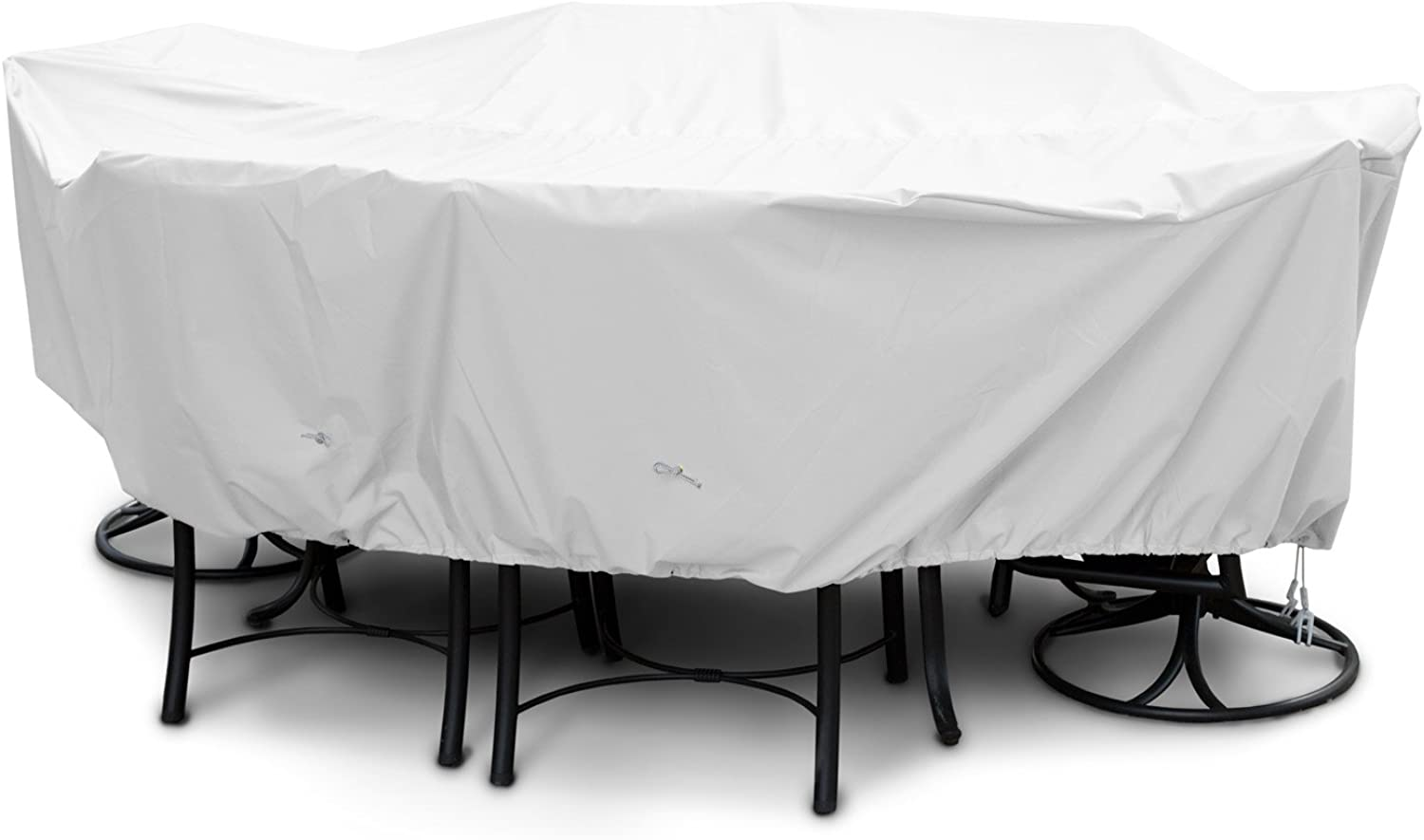 KoverRoos Weathermax 11352 Large Dining Set Cover, 108 by 82 by 28-Inch, White