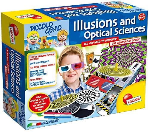 Piccolo Genio Illusions und optische Experimente Spiel