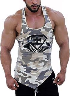 fe0b1088cd5f7 Homme Débardeur DOTBUY T-shirt sans Manches Stretch Shirt Tank Top Muscle Bodybuilding  Blouse Maillot