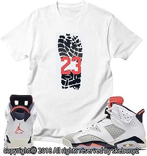 1a4c2258f3f2 Custom T Shirt Matching Style of AIR Jordan 6 Infrared Tinker JD 6-10-
