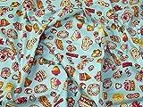 Minerva Crafts Cupcakes & Sweet Treats Print Baumwolle