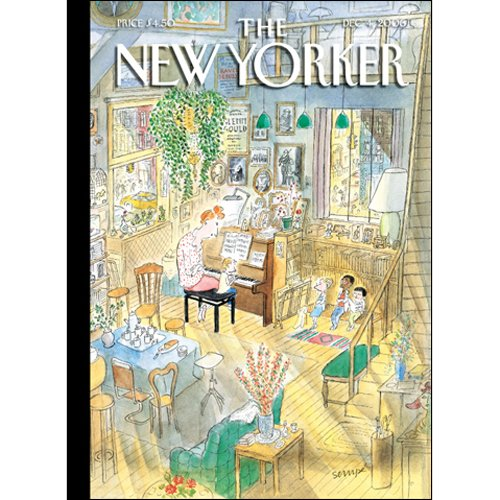 The New Yorker (Dec. 4, 2006) audiobook cover art