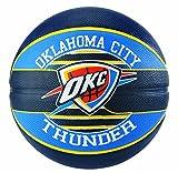 Spalding NBA Team Oklahoma City 83-513Z Balón de Baloncesto, Unisex, Multicolor, 7