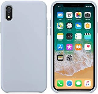 Margoun Silicone Back Case Cover Compatible for Apple iPhone XR - Grey