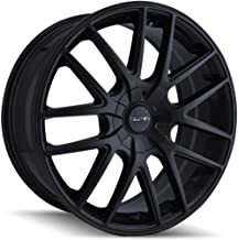 TOUREN TR60 Wheel with Full Matte Black (17 x 7.5 inches /5 x 72 mm, 42 mm Offset