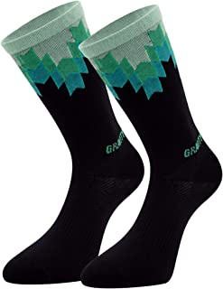 GRAVITYFREESPORT Cycling Arch Support Sports Socks High Performance Lightweight[2pairs]