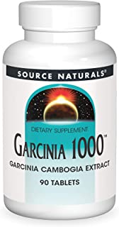 Source Naturals Garcinia 1000 mg Garcinia Cambogia Extract - 90 Tablets