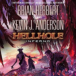 Hellhole Inferno audiobook cover art