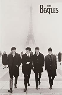 Trends International The Beatles Eiffel Tower Poster 24
