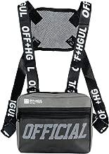 Trido Universal Chest Rig Bag Adjustable Functional Shoulder Pack Walkie Talkie Harness Radio Holster Holder for Men Women
