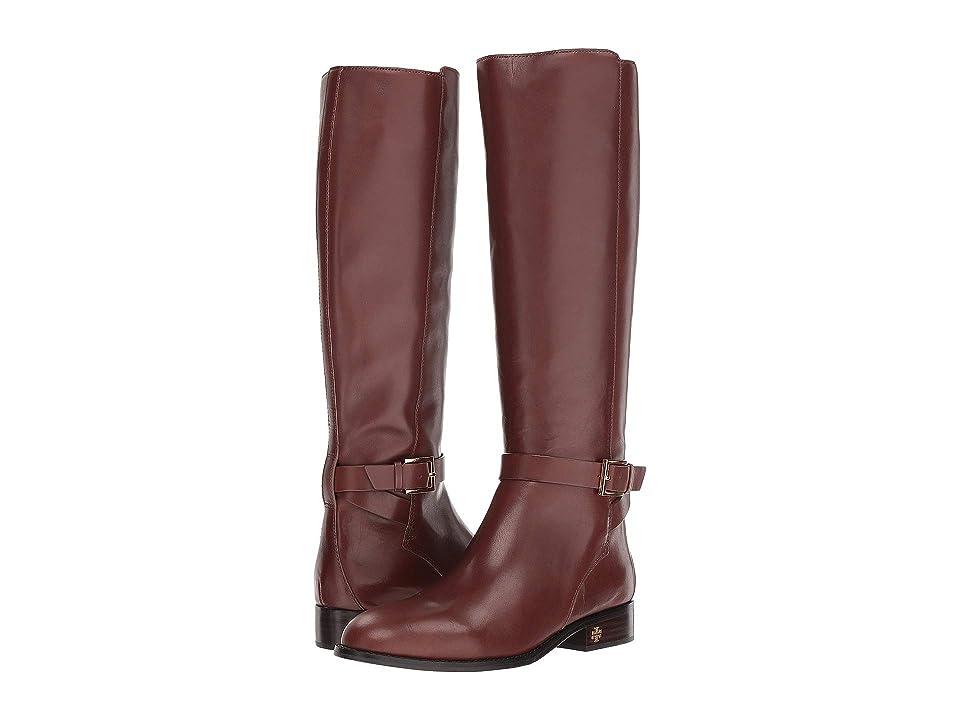 Tory Burch Brooke 25mm Knee Boot (Perfect Brown) Women