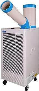 Uninex N407TC Indoor/Outdoor KOOLZONE Mobile Spot Cooler, Industrial Grade, 8,920-BTU 9.22-CER, R410A Refrigerant