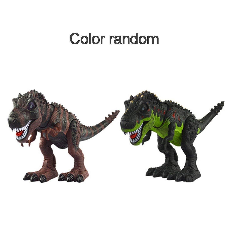 MolySunエレクトリックキッズおもちゃ歩く恐竜リアルムーブメントT-レックスフィギュアおもちゃライトサウンドクラシックモデルおもちゃ誕生日ギフト