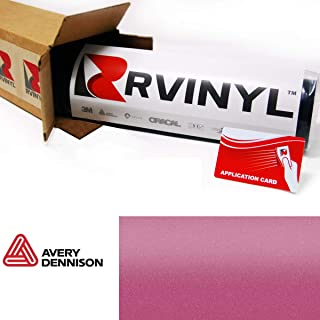 Avery SW900 520-M Matte Metallic Pink Supreme Wrapping Film Vinyl Vehicle Car Wrap Sheet Roll - (12