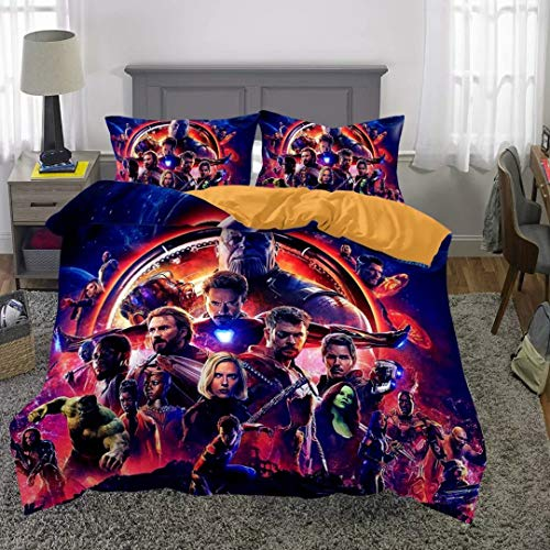 queen marvel bed set - 8