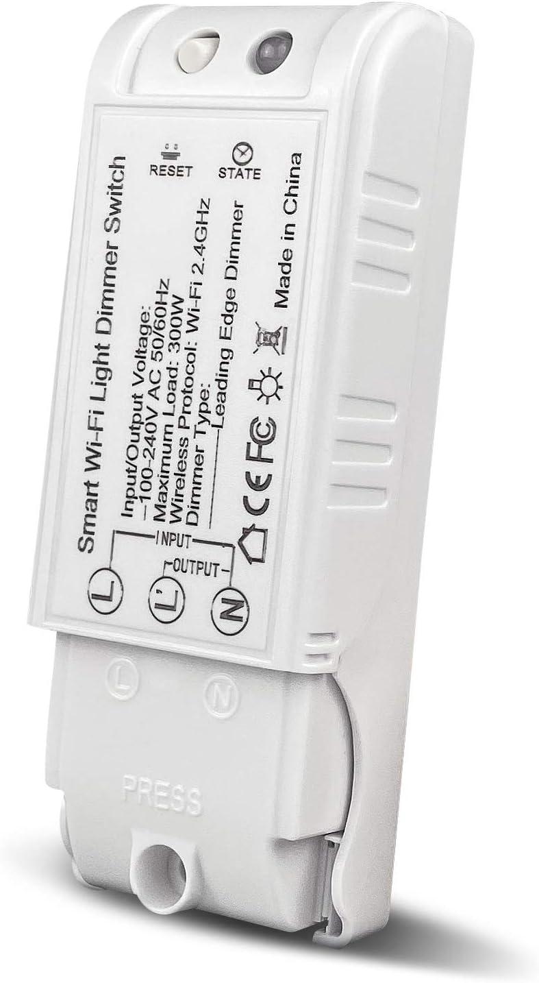 Overseas parallel import regular item WiFi Boston Mall Dimmer Switch Bresuve Module DIY Mo Wireless