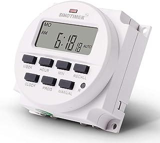 Heaviesk Timer TM618N-6V 6V LCD Digital AC Programable Temporizador Interruptor con relé listado UL