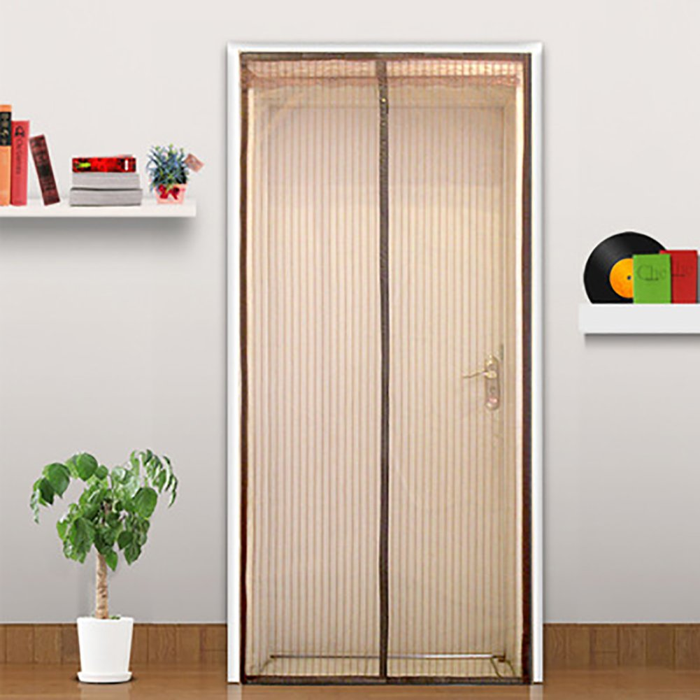 JLPCp Mosquitera Puerta magnética Cubierta con Cortina de Malla Resistente Cortina para Puertas de Volar-A 120x230cm(47x91inch): Amazon.es: Hogar