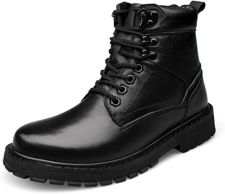 CAI&HONG-CAI GHH Snow boots men's warm plus velvet leather