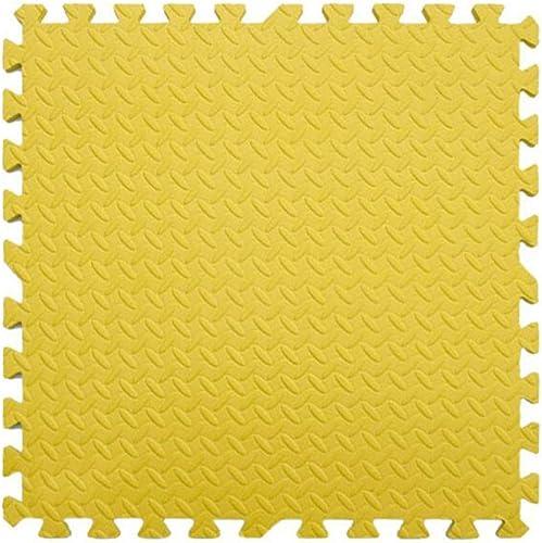 100% autentico WHAIYAO Puzzle Alfombra Piastrelle per per per Pavimenti Camera Da Letto Bambino Gioco Collegamento Delle Stuoie con Bordi EVA, 8 Colori (Color   amarillo, Talla   9pcs)  compras online de deportes
