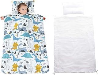 JALPC 4 Season Baby Sleep Sack - Premium Gauze Cotton Slumber Bag 100% Natural - Dinosaur#2 Wearable Blanket with Removabl...