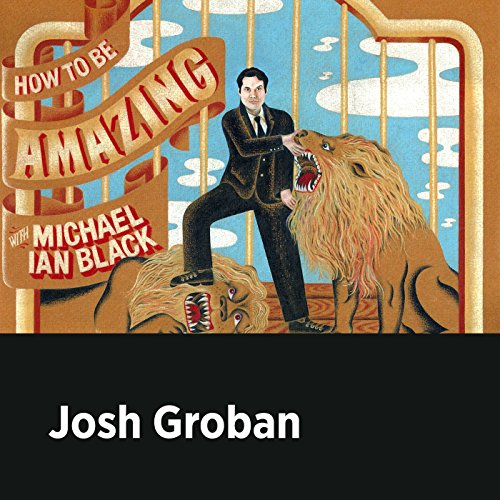 Josh Groban audiobook cover art