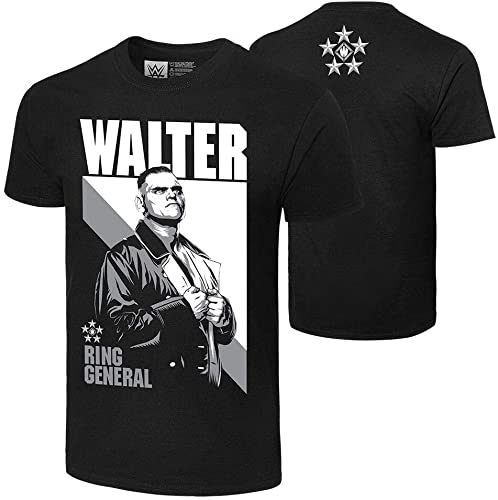 new arrival WWE Authentic Wear online new arrival Walter 5 Star Ring General T-Shirt Black Small outlet online sale
