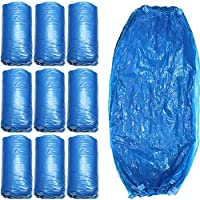 PQZATX 200個 防水オーバースリーブ 15.7インチの長さ、ブルーのスリーブ 腕用、頑丈なポリエチレン製スリーブカバー 弾性カフ付き、塗装、クリーニング、食品安全