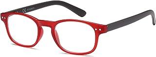 Newvision® NV0183 leesbril, krasbestendige glazen, mat en licht frame, leesbril voor dames en heren, stangen met veerschar...