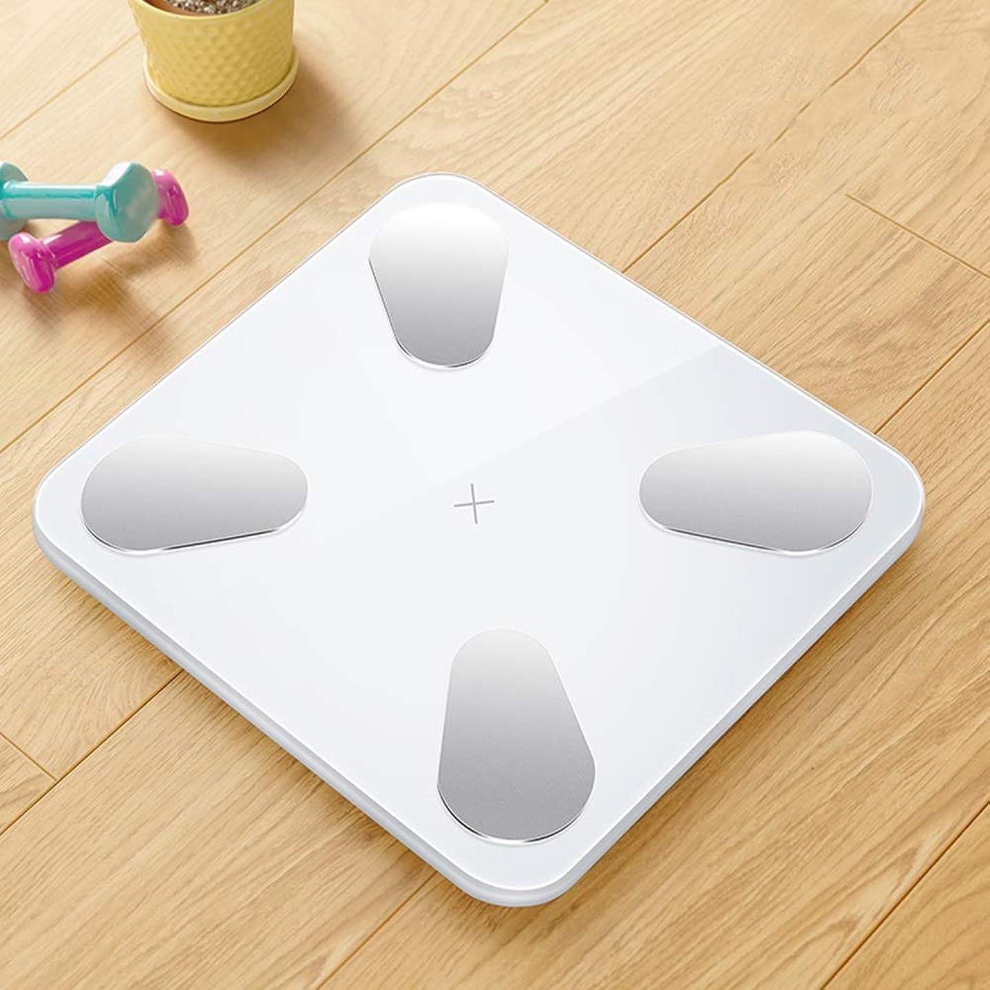 些細雪些細XF 体重計?体脂肪計 体脂肪計 - 精密電子体重計スマートAPP大人の世帯の体重体脂肪計健康スケール減量スケール 測定器 (色 : C)