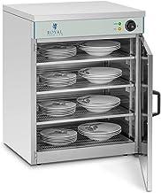 Royal Catering Chauffe-Assiettes Armoire Chauffante pour 120 Assiettes RCWS-60 (53x60x76,5cm, 1.200W, ø assiettes 27 cm, 3...