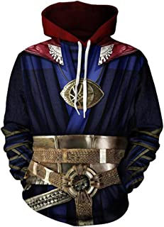 Super Hero Hoodie Super Hero Costume Creative Fashion Sweater Halloween Costume